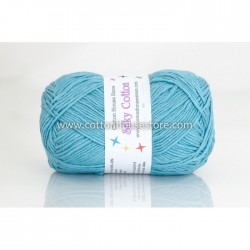 Silky Cotton Bright Blue 13