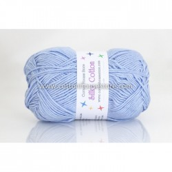Silky Cotton Light Blue 23
