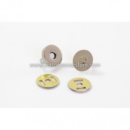 Magnetic Purse Snap Clasps 14mm 2 sets (Small)