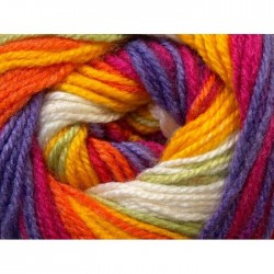 DB Yellow Orange Lilac Green Fuchsia 24569