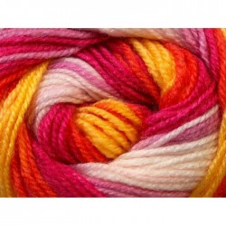 DB Yellow White Orange Fuchsia 24565