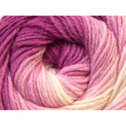 ML White Pink Fuchsia 22022