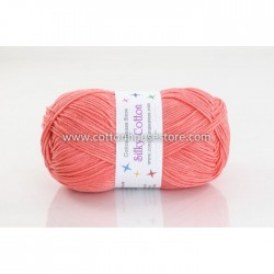 Silky Cotton Dark Salmon 008