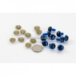 Eyes Blue 12mmx17mm (5 pairs)