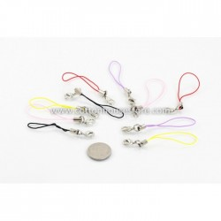 Mixed Cell Phone Lanyard 0.7mm cord (10pcs)