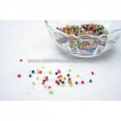 7/0 Mixed AB Color Glass Seed Beads (20gm)