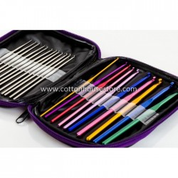 22 Sizes Crochet Hook Set with Case CK-236