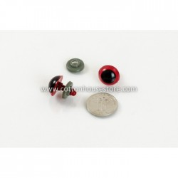 Round Red Eyes 18mm (5...