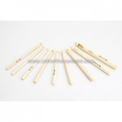 9 Pcs Bamboo Hook Set (4mm-10mm)