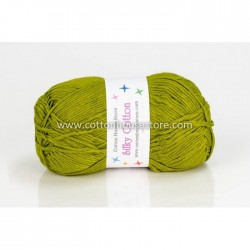 Silky Cotton Apple Green 060