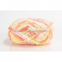 Fluffy Mix White Orange Yellow 28i
