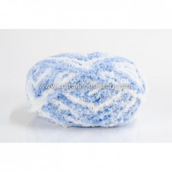 Fluffy Mix Blue White A53