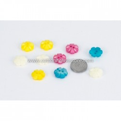 Flower Resin Assorted 10pcs BUT-061
