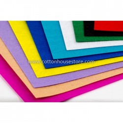 Felt Sheets A4 Size 10 pcs