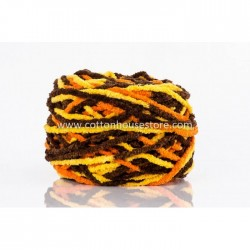 Microfiber Yellow Orange Choc 090