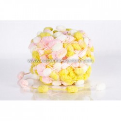 Pink Yellow White POM-10