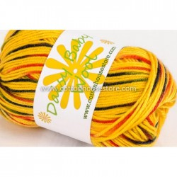 Daisy Baby Wool Mixed Yellow 8804