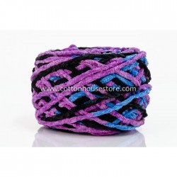 Microfiber Blue Purple Black 113