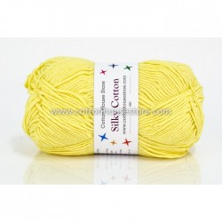 Silky Cotton Light Yellow 015