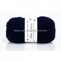 Silky Cotton Dark Blue 17