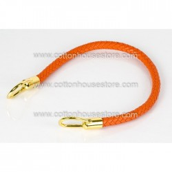 Imitation Leather Handle Orange 068
