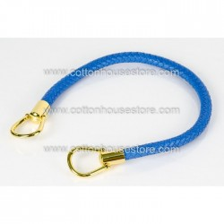 Imitation Leather Handle Bright Blue 069