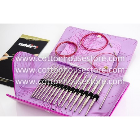 ADDI Click Lace Long Tips Circular Needle Set CK-679