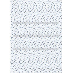 Cotton Fabric 20060 Stars White 4m