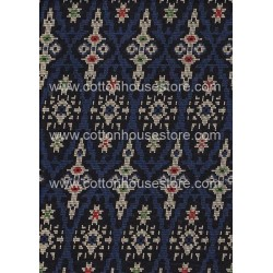 Cotton Fabric 20070 Dark Blue 4m