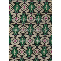 Cotton Fabric 20071 Green 4m