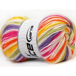GB Yellow White Pink Orange Lilac Green 33399
