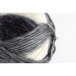 Cashmere Black & Off White Shades A8804