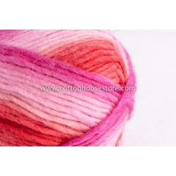 Cashmere Red Pink Shades A8809
