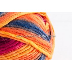 Cashmere Orange Blue Red A8821