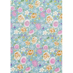 Cotton Fabric 30026-R Flower