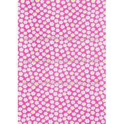 Cotton Fabric 30063-H Flowers 1m