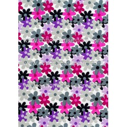 Cotton Fabric 30046-H Flowers 1m