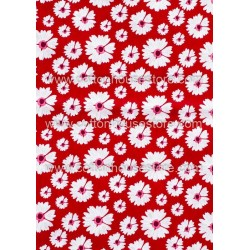 Cotton Fabric 30018-X Flower 1m
