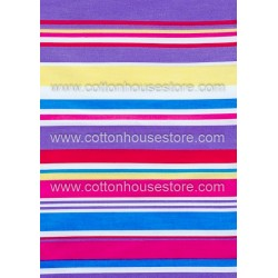 Cotton Fabric 30006-X Stripes 1m