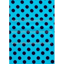 Cotton Fabric 30004-X Dots 15mm 1m