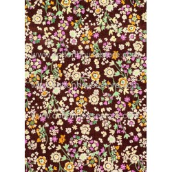 Cotton Fabric 30020-X Flower 1m