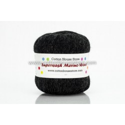 Merino Black Grey 012 50g