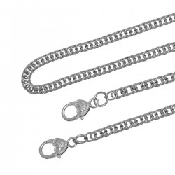 Purse Chain Handle Crossbody Silver Tone