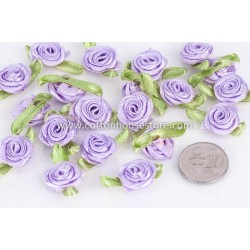 Rose Flower Light Purple 014