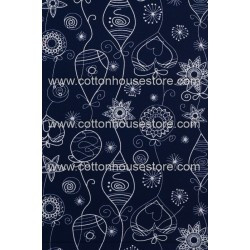 Cotton Fabric 30073-R Abstract