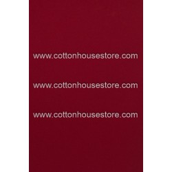 Cotton Fabric 30010-R Plain Red 1m