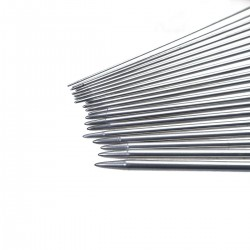 11 Sizes 25cm Stainless Steel Knitting Needles Set