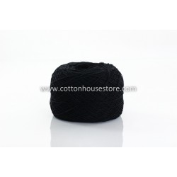 Fine Cotton 015 Black (80gm)