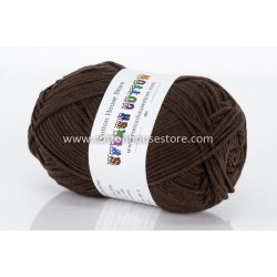 Splash Cotton Dark Brown C03