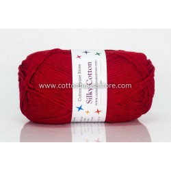 Silky Cotton Bright Red 009